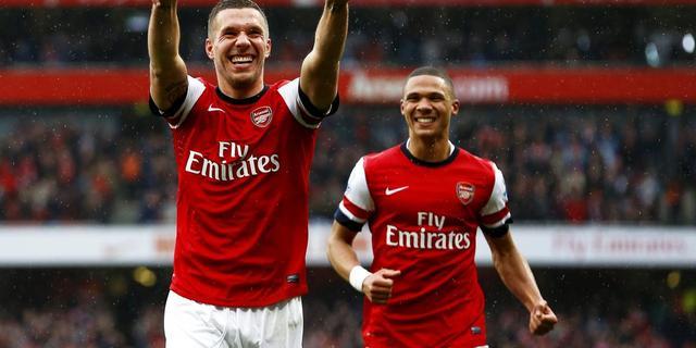 Arsenal in slotfase naar winst