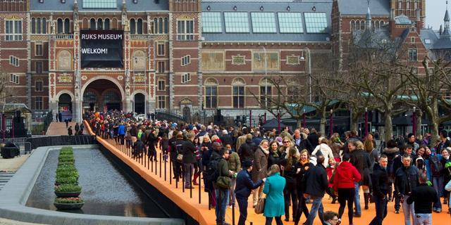 Rijksmuseum stevent af op drie miljoen bezoekers