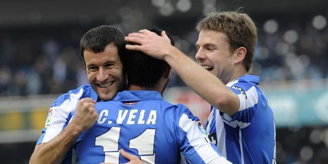 Sociedad steviger op vierde plaats, zege Atletico