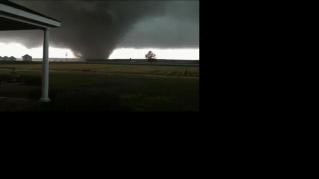Noodtoestand Nebraska VS om tornado's