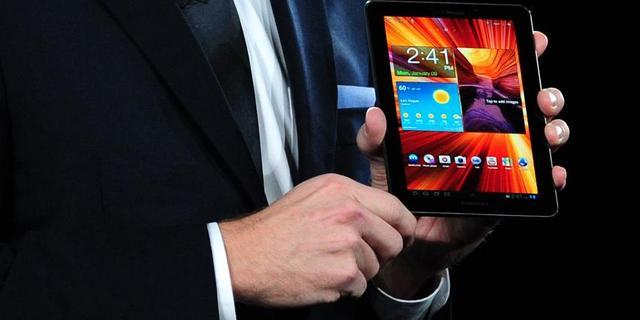 'Vooral kleine Androidtablets populair'