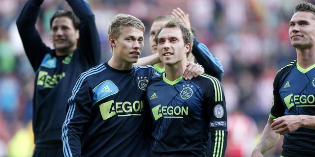 Ajax neemt optie op landstitel