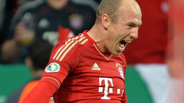 Bayern start met Robben tegen Dortmund