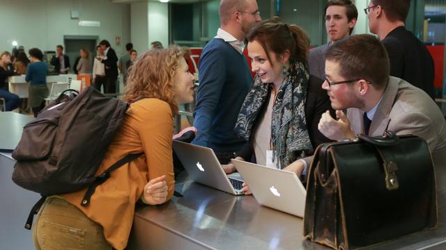 Jonge ondernemers willen netwerken