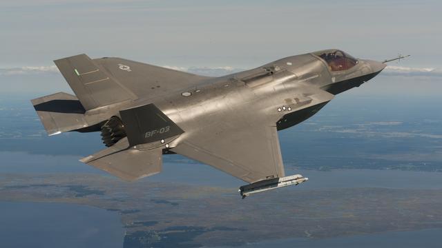 Geen F-35 boven de stad door bewolking
