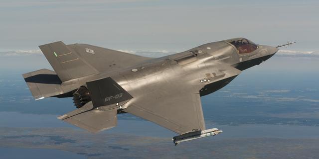 'JSF maakt meer lawaai dan F-16'