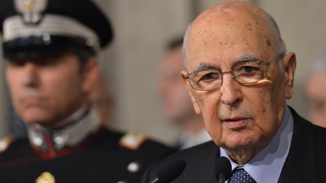President Italië vreest voor sociale onrust