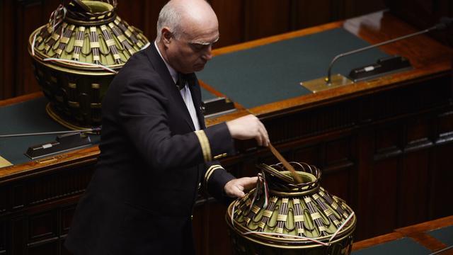 Napolitano stemt in met tweede ambtstermijn