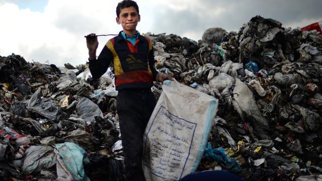 Kinderen gerekruteerd in oorlog Syrië