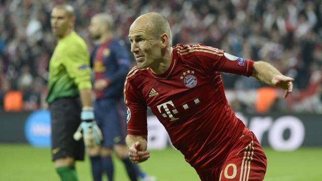 Robben hoopt op eerste zege in Champions League
