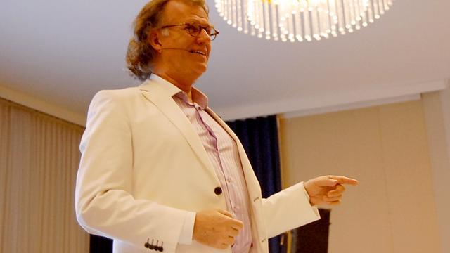 André Rieu vindt Wilhelmus 'mooiste' volkslied