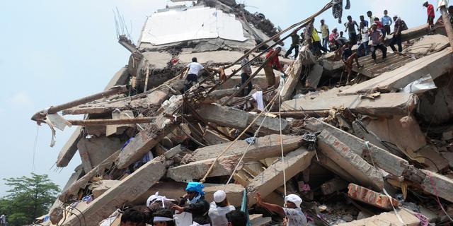 Overheid Bangladesh verwacht geen overlevenden meer te vinden