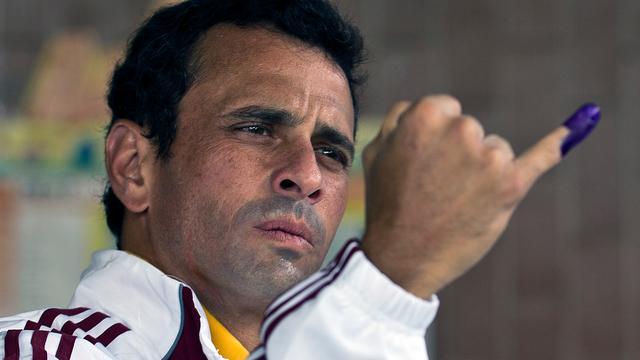 Venezolaanse oppositieleider mag vijftien jaar geen politiek bedrijven