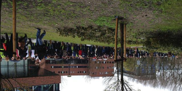 Hogeschool Leiden ontruimd na bommelding
