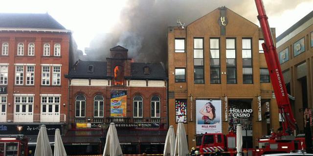 Cafébrand in centrum Eindhoven