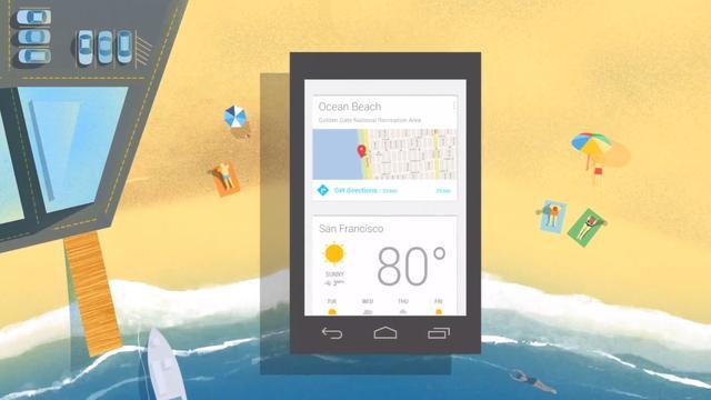 Google Now ondersteunt nu apps van derden