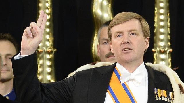 Koning Willem-Alexander stelt zich voor in Berlijn