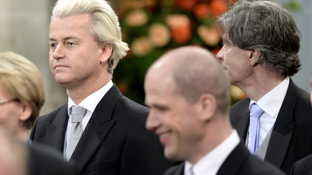 Senaatsvoorzitter passeerde Wilders bij inhuldiging