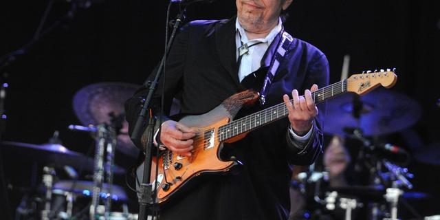 Ongebruikte songtekst Bob Dylan op veiling