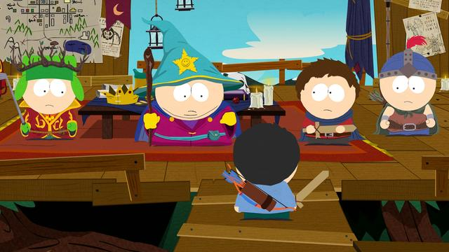 Zeven scènes gecensureerd in South Park: The Stick of Truth