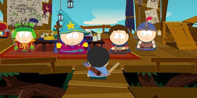 Zeven scènes gecensureerd in South Park: The Stick of Truth