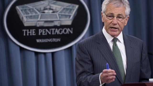 Hagel presenteert inkrimpingsplannen leger VS