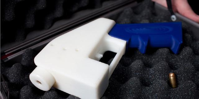 Eerste 3D-geprint wapen afgevuurd in video