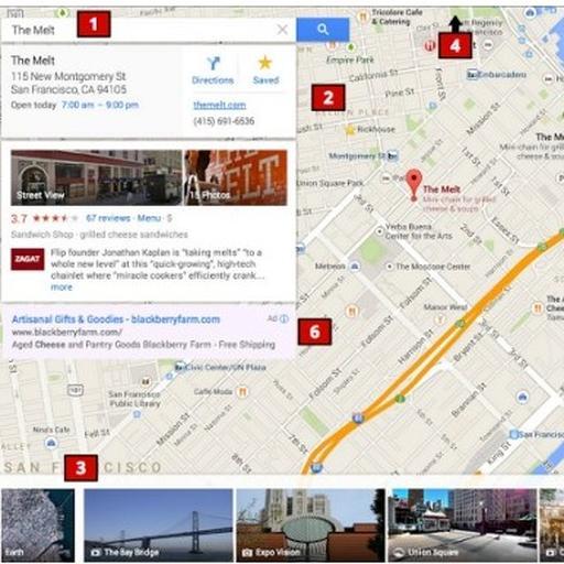 Nieuw Google Maps