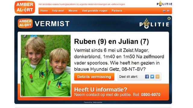 Bedankbrief moeder van Ruben en Julian