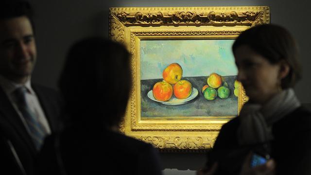 Bijna 32 miljoen euro voor appels van Cézanne