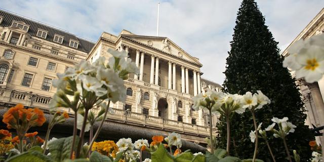 Bank of England houdt rente ongewijzigd