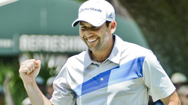 Garcia leidt voor Woods bij Players Championship (video)