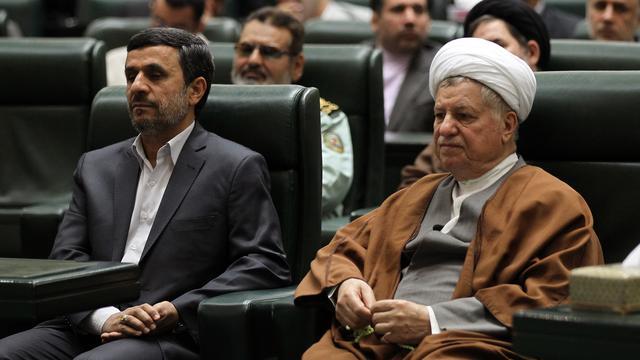 Oud-president Iran stelt zich verkiesbaar