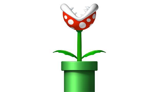 Man bouwt vuurspuwplant uit Super Mario Bros