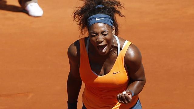 Williams wederom in finale in Madrid (video)