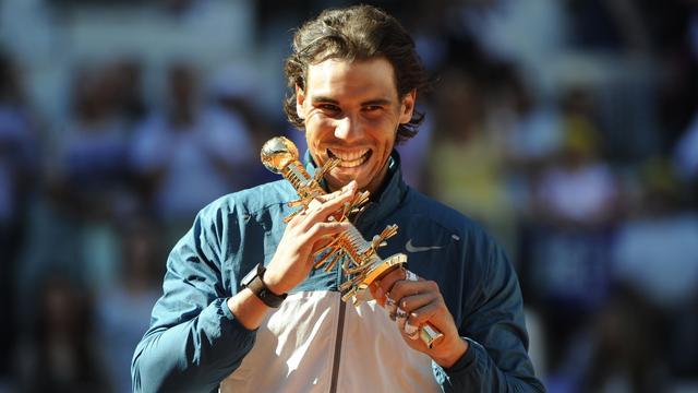 Nadal wint titel in Madrid (video)