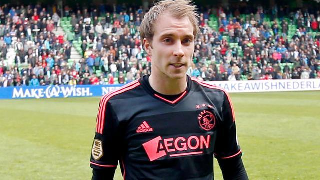 Ajacied Eriksen wil naar Dortmund