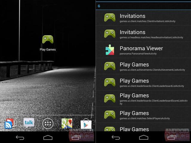 Gamescentrum voor Android