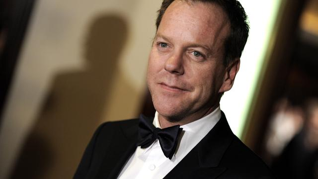 24-acteur Kiefer Sutherland speelt Snake in Metal Gear Solid 5
