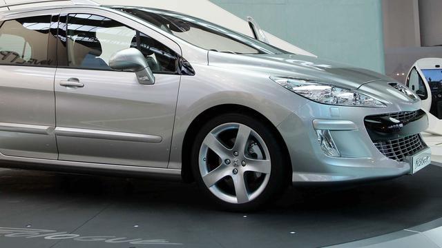Lichte omzetstijging voor Peugeot