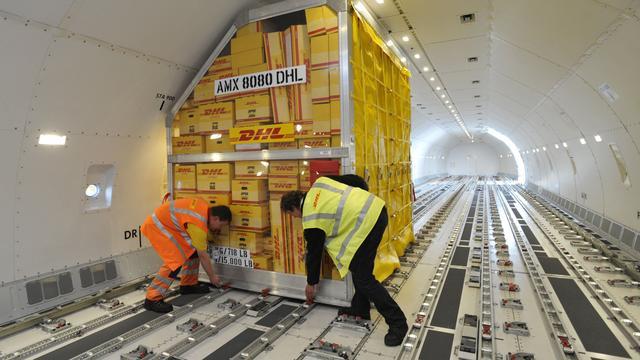 Stijgende vraag naar luchtvrachtvervoer