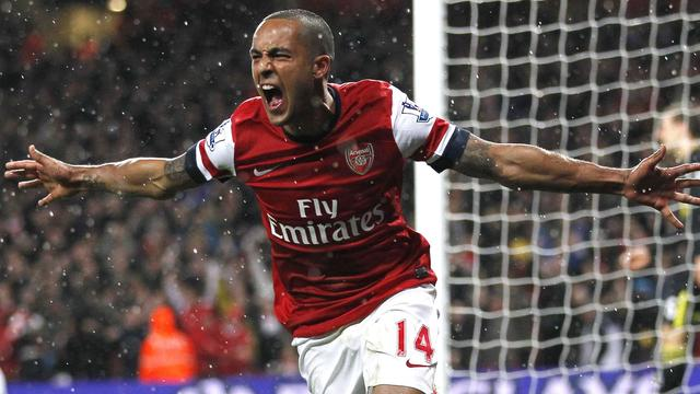 Arsenal duwt Wigan Athletic niveau lager
