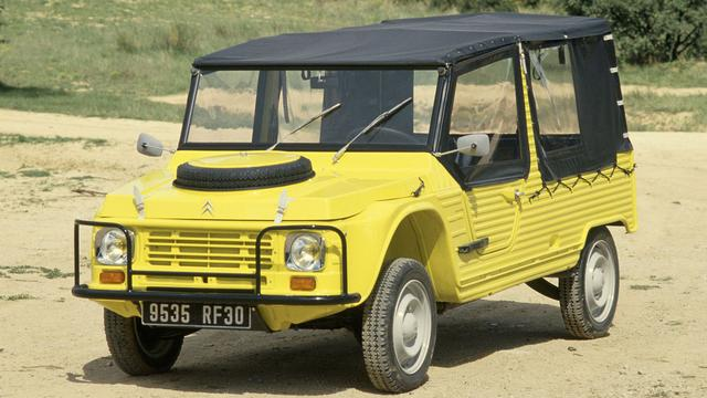 Citroën de Méhari is 45 jaar