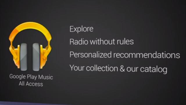 Google breidt online opslag Play Muziek uit naar 50.000 nummers