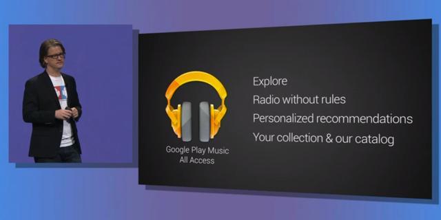 'Muziekdownloads Google Play Music blijven stijgen'