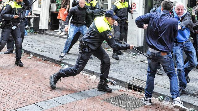 Ruim 60 arrestaties rond finale Europa League