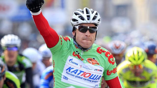 Kristoff verslaat Sagan en wint in Zwitserland