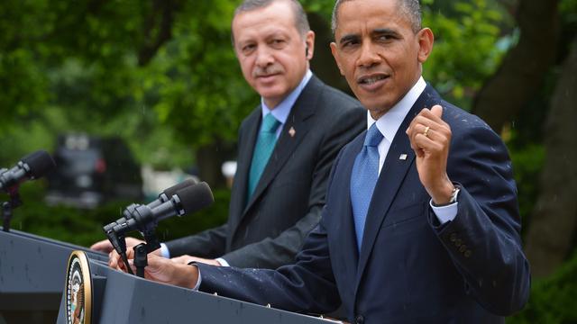Erdogan en Obama in overleg over Syrië