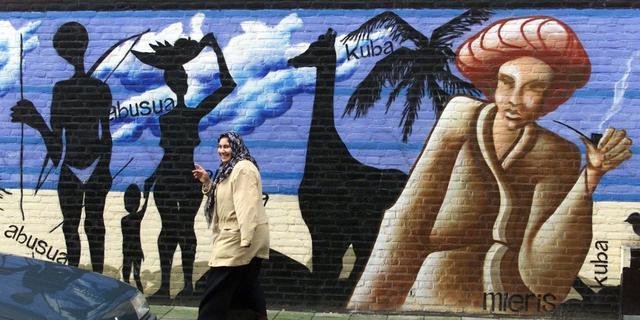 'Orthodoxe moslims in Haagse wijk'