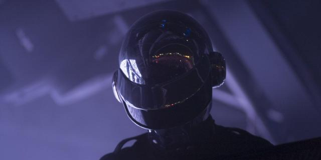 Daft Punk treedt op met Stevie Wonder